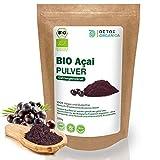 ACAI PULVER BIO // 100g Gefriergetrocknet aus Brasilien // Aҫai Beeren // Organic Acai Berry Powder // Freeze Dried // Premium Qualität von Detox Organica