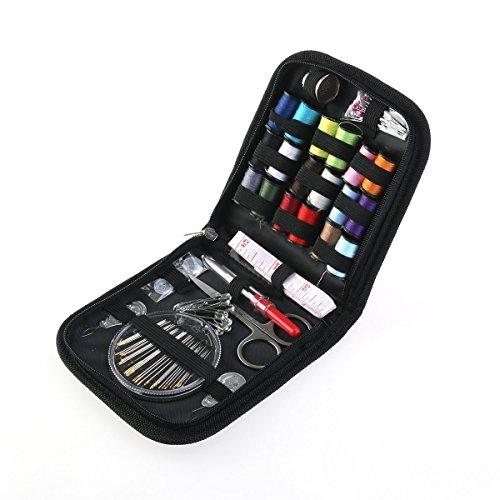 Pixnor Kit 58 accessoires main professionnel survie Compact réparation de couture pour la maison cuisine exterieur