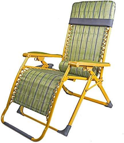 LFDHSF Tumbona, Sillones reclinables, Sillas Tumbona de Playa Plegable Tumbona de jardín al Aire Libre Veranda Vertical Estructura de Acero Revestido de Polvo y Tela de Malla