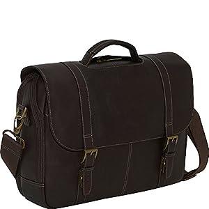 01de105f7a  150 Samsonite Leather Flapover Case Double Gusset Brown