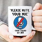 MWKL Bienvenido a Personalizar la Taza con la inscripción en inglés. Silencie su micrófono EST 2021 »