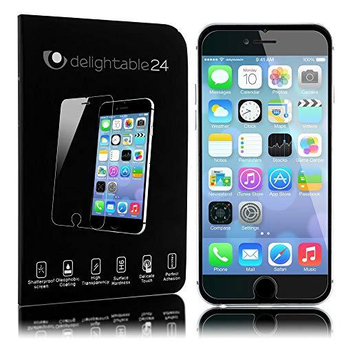 NALIA Pantalla Cristal Templado Maxima Proteccion Glass Screen Protector Compatible con Apple iPhone 6 Plus / 6S Plus Smartphone - Transparente