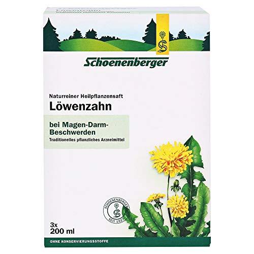 Schoenenberger Löwenzahn naturreiner Heilpflanzensaft, 600 ml Lösung