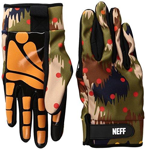 Neff Chamäleon-Handschuh für Herren - Grün - XL