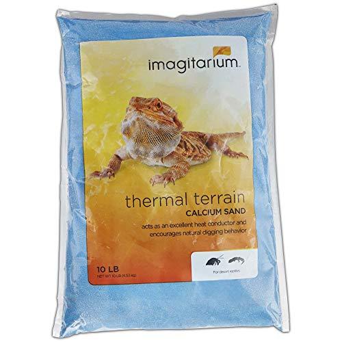 Imagitarium Blue Calcium Reptile Sand, 10lbs, 10 LB