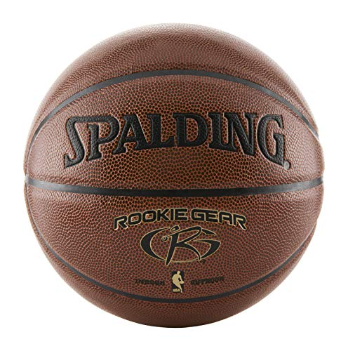 Spalding NBA Rookie Youth Indoor/Outdoor Basketball , Brown , 27.5 inch