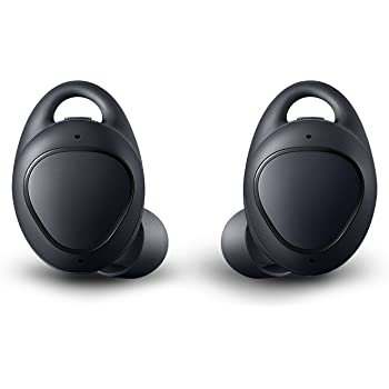 Samsung Gear IconX (2018 Edition) SM-R140NZKAXAR Bluetooth Cord-free Fitness Earbuds, w/ On-board 4Gb MP3 Player (US Version with Warranty) - Black