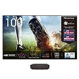 Hisense 100L5F-A12 Laser TV 100' con schermo Antiriflesso, Risoluzione 4K, HDR10, Smart TV VIDAA...