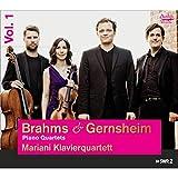 Brahms & Gernsheim: Piano Quartets Vol. 1
