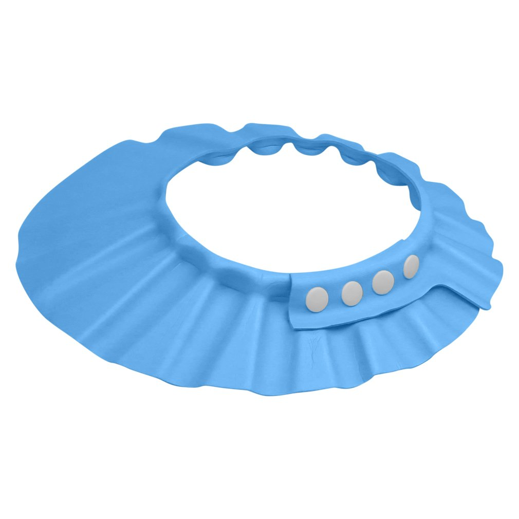 Evelots Shampoo Shower/Bath Cap-Baby/Child-Visor- Waterproof-Adjustable-2 Colors