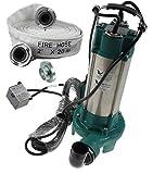 Schmutzwasserpumpe Fäkalienpumpe Schneidmesser Tauchpumpe 2200W