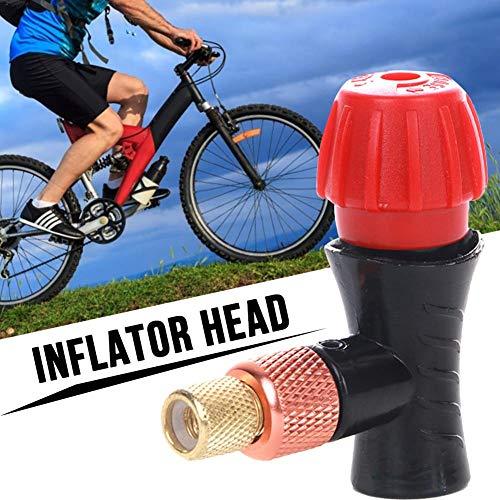 Dedeka Bike Inflador Cartucho Válvula Bicicletas Mini Head Válvula Adaptador Prestea Schrader Válvula Compatible