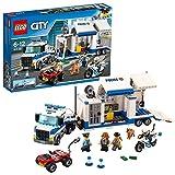 LEGO 60139 City Policía Centro de Control Móvil, Camión de Juguete para Niños +6 Años con Moto, Coche y 3 Mini Figuras