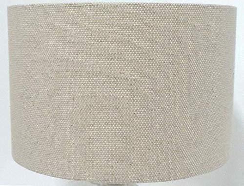 30,5 cm (30 cm) chanvre naturel Effet Lin Abat-jour/lampe de table/lampe de plafond