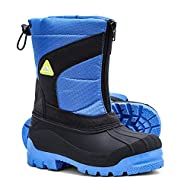 ALEADER Boys Girls Insulated Waterproof Cold-Weather Snow Boots