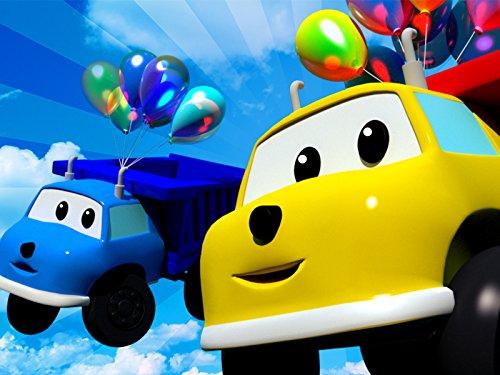 Ethan läßt bunte Ballons platzen / Spiele Fußball / LSchieße mit einem Katapult / Spiele Kegeln