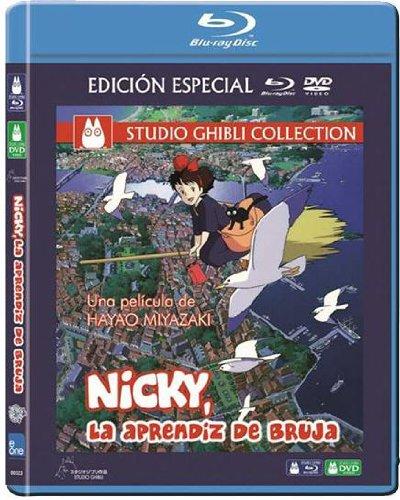 Nicky, La Aprendiz De Bruja (Combo Bd) [Blu-ray]