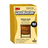 3M 9564 Sand Blaster Dual Angle Sanding Sponge 180-Grit 4.5 by 2.5 by 1-Inch [並行輸入品]