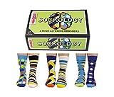 trendaffe Oddsocks Sockology Socken im 6er Set - Strumpf