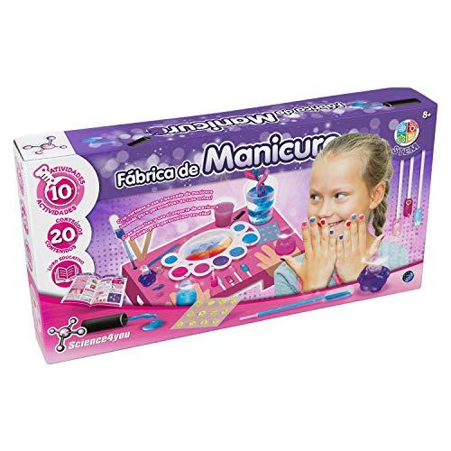 Science4you-Fábrica per Manicure XL, Multicolore (80002192)