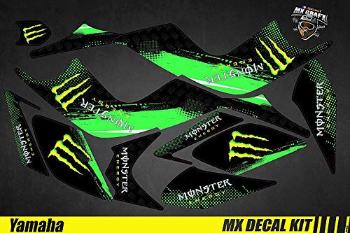 Deko-Set Quad für/ATV Decal Kit für Yamaha Raptor – Monster