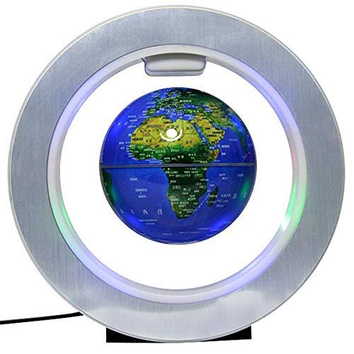 LULUTING Weltkugel Schwimmdock Levitating - bunten LED-Licht pädagogische Geschenke Werkzeug Home Office Schreibtisch-Dekoration, kreative Neuheit-Geschenke