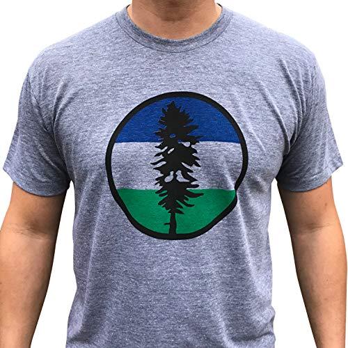 Cascadia tri-blend mens/unisex shirt. Northwest T.