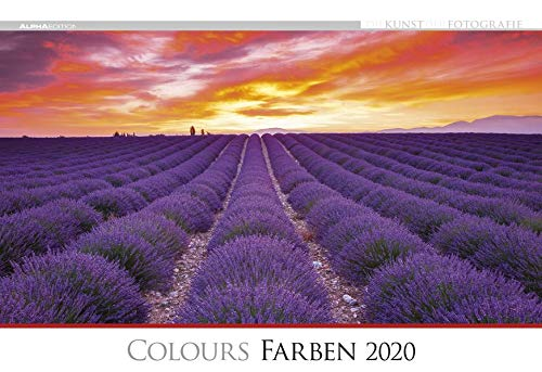 Die Kunst der Fotografie - Farben 2020 - Bildkalender quer (50 x 34) - Landschaftskalender - bunt - Natur - Wandkalender