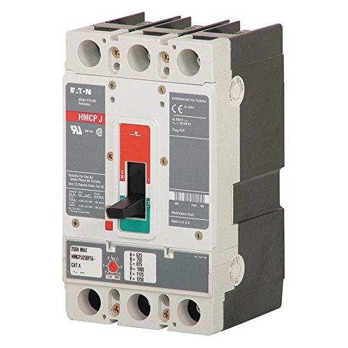 HMCPS015E0C-Thermal Magnetic Circuit Breaker, HMCPS Series, 600 VAC, 250 VDC, 15 A, 3 Pole, DIN Rail, Panel