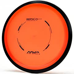 MVP INERTIA - The Inertia is an understable distance driver. Its Neutral flight for low power throwers will allow for reliably straight distance lines with accuracy. STABLE-UNDERSTABLE DRIVER - The Inertia's understable profile will allow high power ...