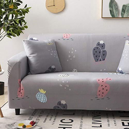 LYXGSSM Sofa Cover 1 2 3 4-Seater, Stretch Fabric Sofa Cover, Non-Slip Anti-Crease Furniture Universal Protective Cover,Pc-02,2 Seater