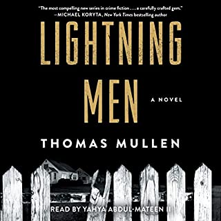 Lightning Men audiobook cover art