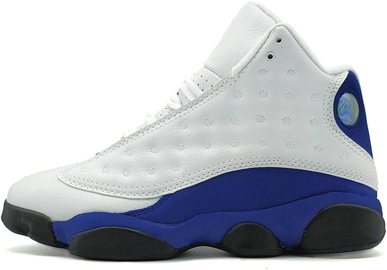 IDNG Basketballschuhe Mnner Basketball Schuhe Hhe Sportlich Outdoor Sport TurnschuheSchuhe Blau