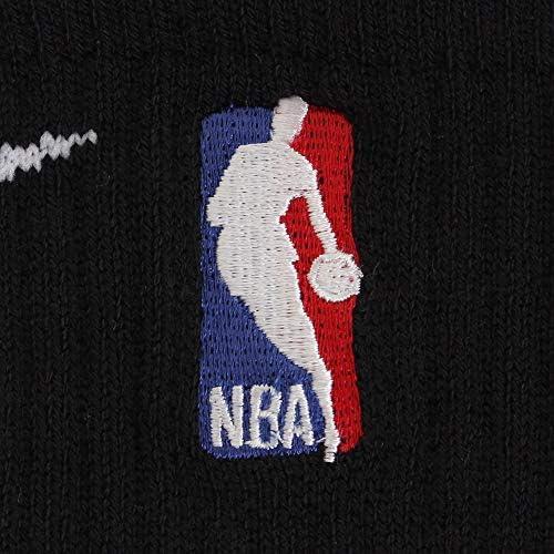 Nike U Nk Elite Crew - NBA Adult Unisex SX7587-010, Black/White, Size US M