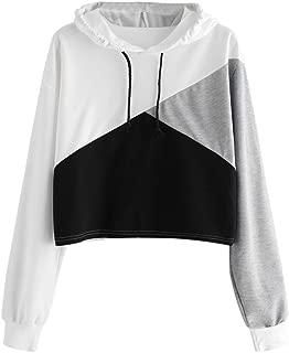 Cute Womens Sweatshirt,KIKOY Girls Long Sleeve Hoodie Tops Pullover Blouse Sale