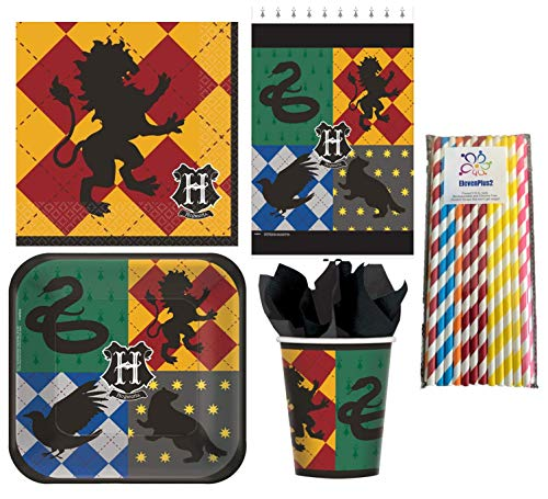 Harry Potter Birthday Party Supplies Pack for 16 Guests