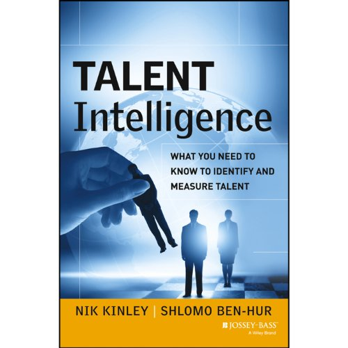 Talent Intelligence audiobook cover art