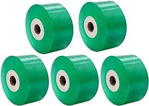 5 Pack kwekerij Grafting Tape, 3 cm × 110 m Enten Stretchable Tape Bloemisterij Vochtbarrière Plant Reparatie, voor Verpak...