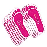 60 Pairs(120feets) Spray Tan Feet Pads For Sunless Spray Tanning in Pink