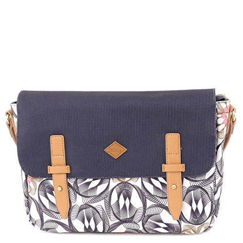 Oilily Damen M Shoulder Bag OES7186 Umhängetasche, Grau (Charcoal 915)