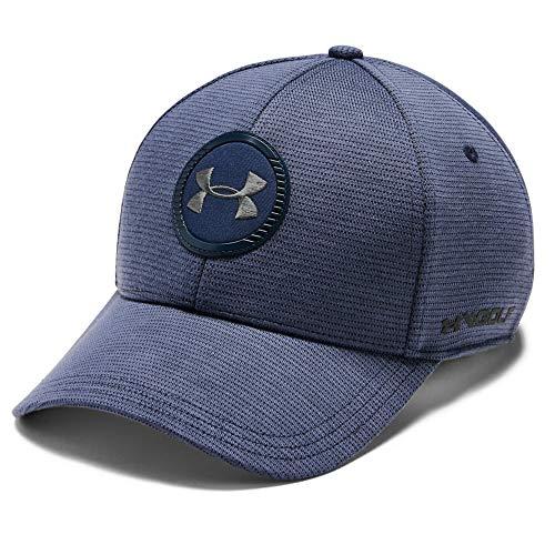 Under Armour Men's Jordan Speith Iso-Chill Tour Cap 2.0 , Blue Ink (497)/Academy Blue , Medium/Large