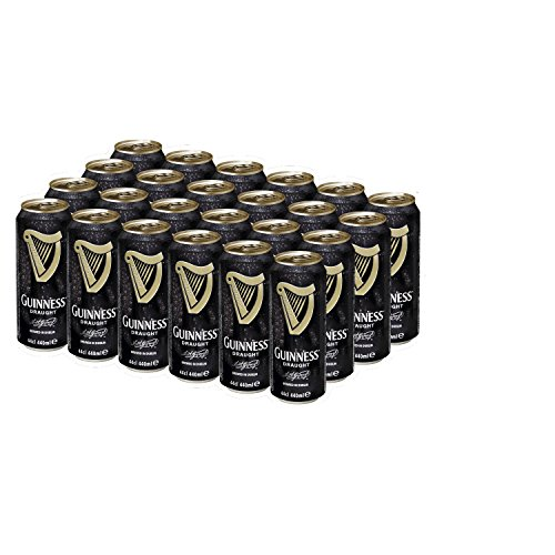 Guinness Draught Cerveza - Caja de 24 Latas x 440 ml - Total: 10.56 L