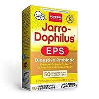 Jarrow Formulas ジャロードフィルス EPS ダイジェスト プロバイオティクス 500 億 30ベジカプセル (海外直送品)