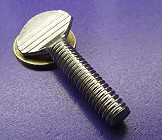 Spade-Head Thumb Screw 18-8 Stainless Steel Thread Size 1//4-20 Thread Size 1//4-20 FastenerParts