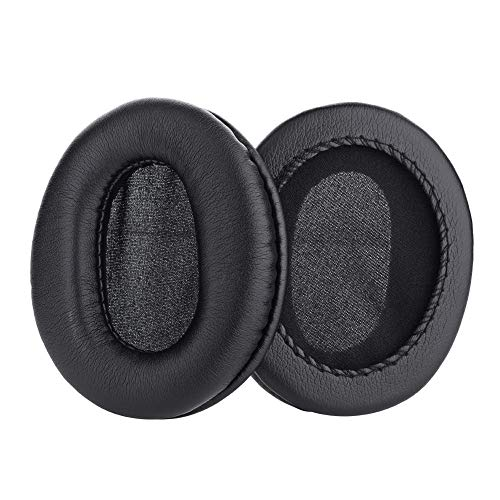 Yosoo Health Gear 2PCS Replacement Earpads, Ear Cushions Pads for ATH-M50 M50S M20 M30 M40 ATH-SX1, Black