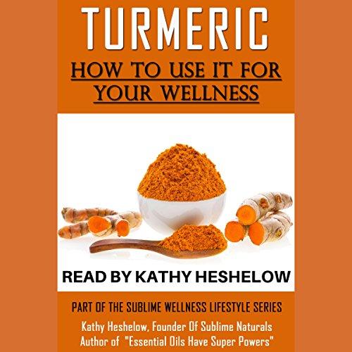 Turmeric audiobook cover art