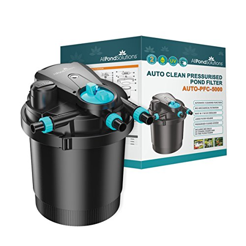 All Pond Solutions Auto Cleaning Pressurised Koi Pond Filters 5000L/H