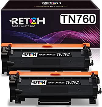 2-Pack RETCH Compatible Toner Cartridge Replacement for Brother Printer