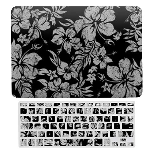 Macbook Air 13 Inch Case(A1369 & A1466, Older Version 2010 2017 Release), Plastic Hard Protective Laptop Case Shell With Keyboard Cover, Hibiscus Pareau Hawaiian Neoprene Wetsuit