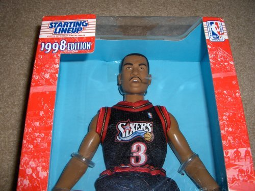 Starting Lineup 1998 Allen Iverson 12 Inch Fully Poseable NBA Figure [Toy]